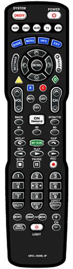 UR5L-9000L-IP remote