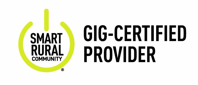 Smart Rural Community Gig Certified Provider Logo